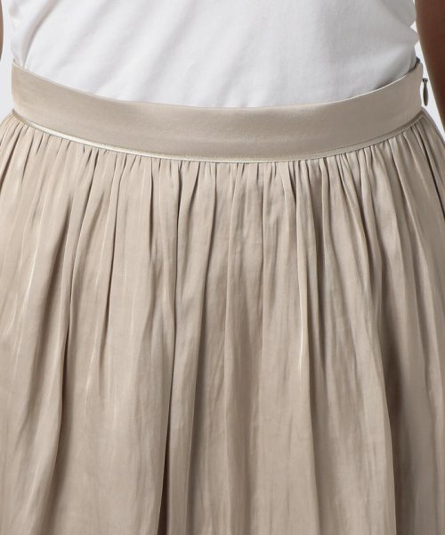 NOLLEY'S(ノーリーズ)/ヴィンテージサテンギャザースカート/70055106003_img04