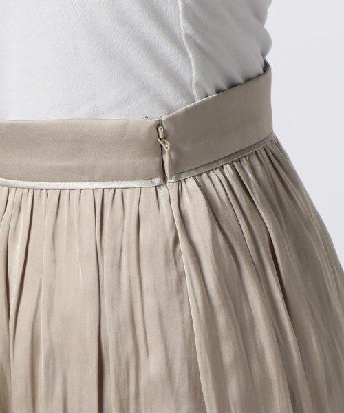 NOLLEY'S(ノーリーズ)/ヴィンテージサテンギャザースカート/70055106003_img05
