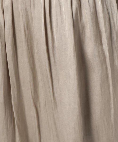 NOLLEY'S(ノーリーズ)/ヴィンテージサテンギャザースカート/70055106003_img07
