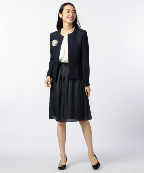 NOLLEY'S(ノーリーズ)/ヴィンテージサテンギャザースカート/70055106003_img10