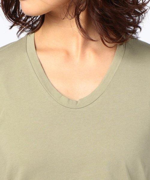 NOLLEY'S(ノーリーズ)/【Freeseam/フリーシーム】UネックRelux Tシャツ/70246103009_img04
