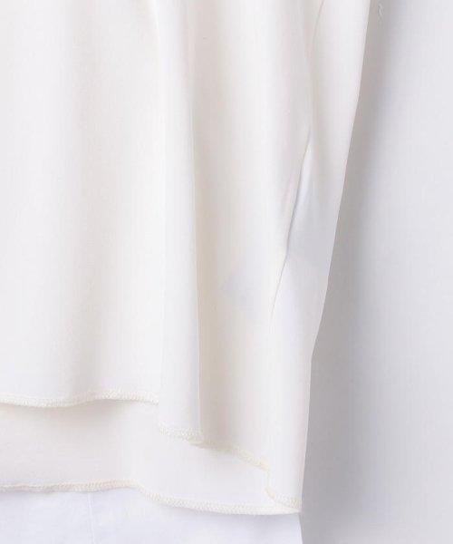 NOLLEY'S sophi(ノーリーズソフィー)/【MM6 Maison Margiela/エムエム 6 メゾン マルジェラ】 ストレッチジャージショートカットソー/70211103001_img05