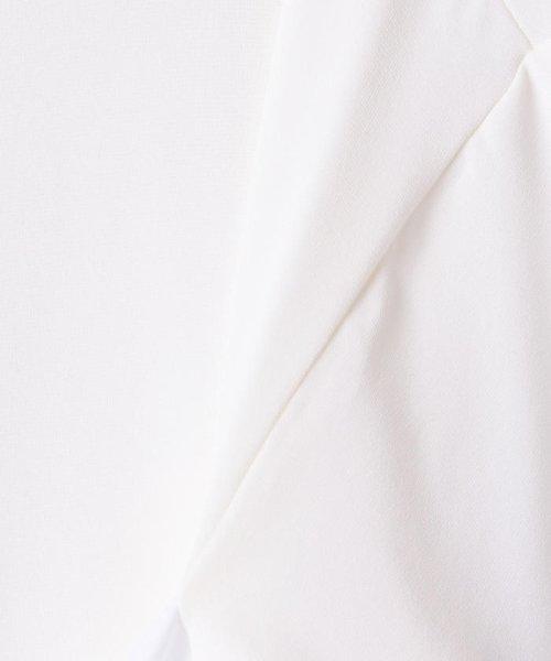 NOLLEY'S sophi(ノーリーズソフィー)/【MM6 Maison Margiela/エムエム 6 メゾン マルジェラ】 ストレッチジャージショートカットソー/70211103001_img06