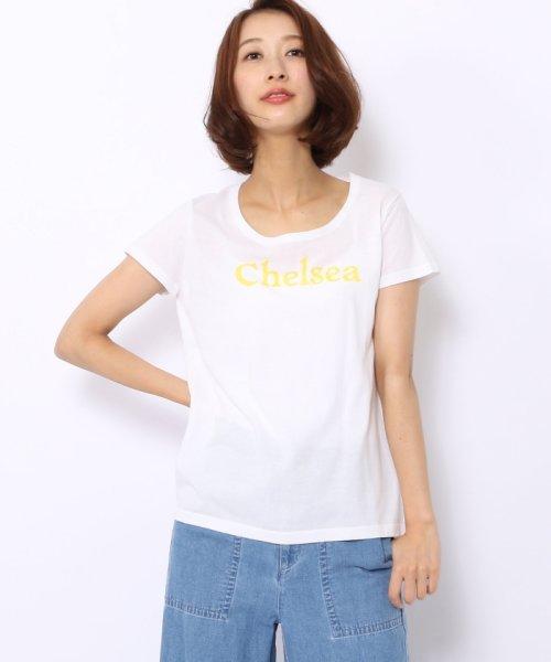MACPHEE(MACPHEE)/コットンニット プリントTシャツ(CHELSEA)/12027102672_img02