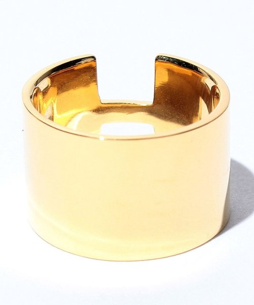 CLANE(クラネ)/WIDE PLATE RING GOLD/111363021_img01