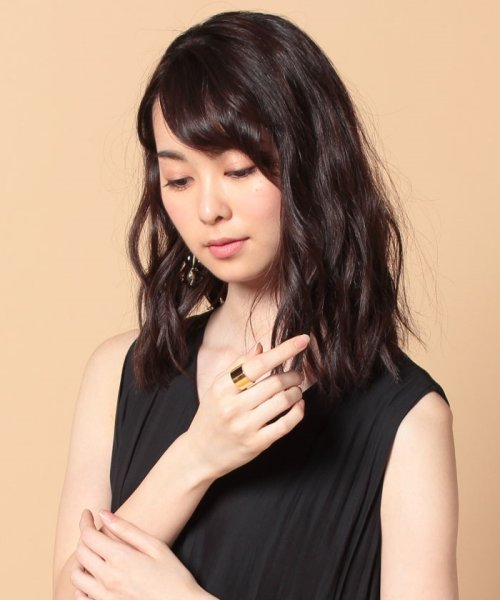 CLANE(クラネ)/WIDE PLATE RING GOLD/111363021_img02