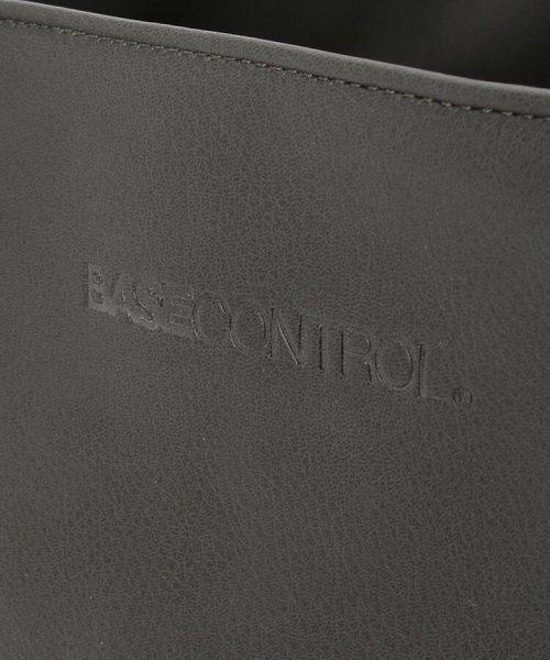 BASECONTROL(ベースコントロール)/【WEB限定】 トートバッグ メンズ <ユニセックス> PUレザー トートバッグ/99990926261100_img07