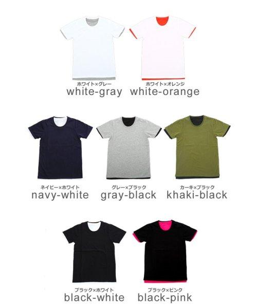 improves(インプローブス)/アンサンブル半袖クルーネックTシャツ/98992_img01