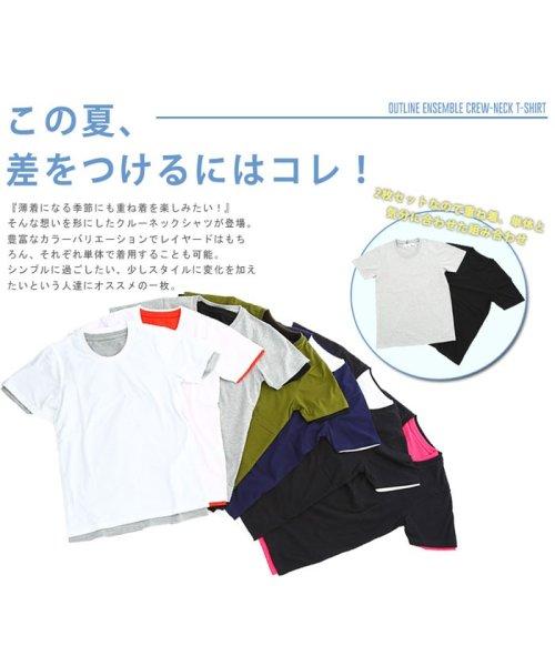 improves(インプローブス)/アンサンブル半袖クルーネックTシャツ/98992_img06
