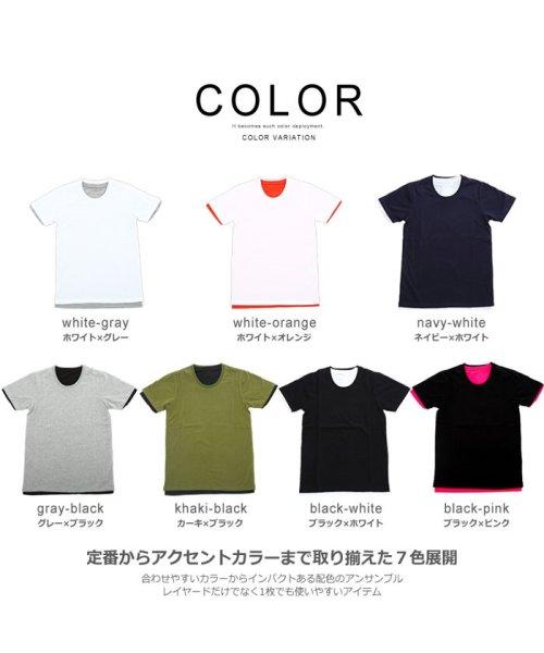 improves(インプローブス)/アンサンブル半袖クルーネックTシャツ/98992_img12