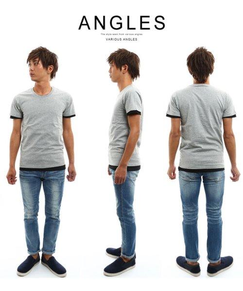improves(インプローブス)/アンサンブル半袖クルーネックTシャツ/98992_img25