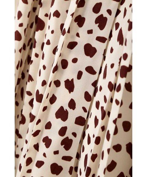 PROPORTION BODY DRESSING(プロポーション ボディドレッシング)/ダルメシアンドットプリントスカート/1217220811_img08