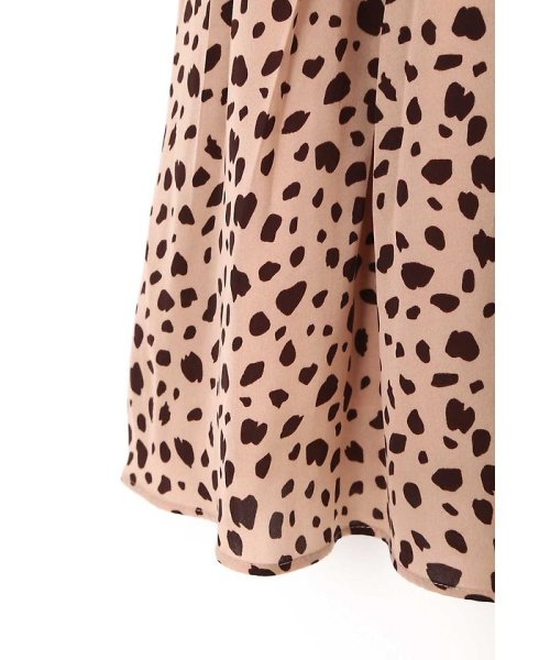 PROPORTION BODY DRESSING(プロポーション ボディドレッシング)/ダルメシアンドットプリントスカート/1217220811_img12