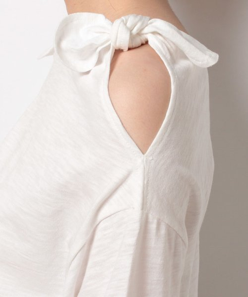 NICE CLAUP OUTLET(ナイスクラップ アウトレット)/【natural couture】肩リボンTシャツ/356610590_img04