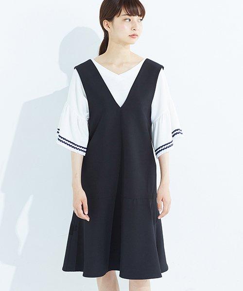 haco!(ハコ)/パッと着て今気分&長い季節着られる すそフレアージャンパースカート/636378_img04
