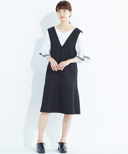 haco!(ハコ)/パッと着て今気分&長い季節着られる すそフレアージャンパースカート/636378_img05