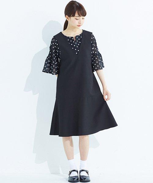 haco!(ハコ)/パッと着て今気分&長い季節着られる すそフレアージャンパースカート/636378_img11