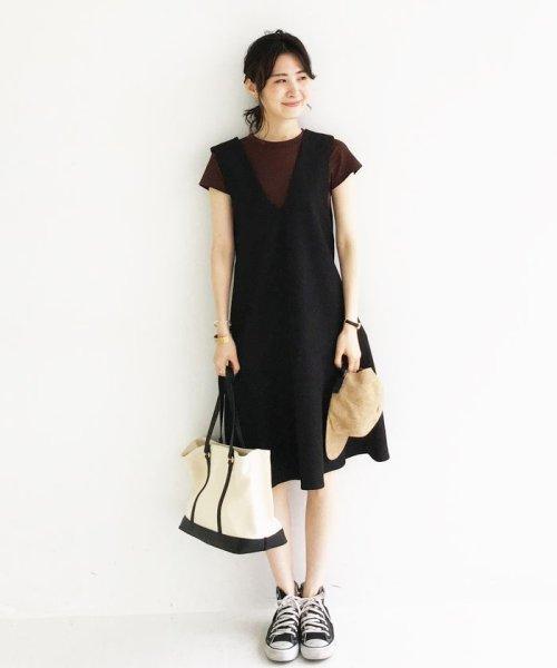 haco!(ハコ)/パッと着て今気分&長い季節着られる すそフレアージャンパースカート/636378_img18