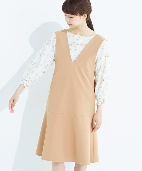 haco!(ハコ)/パッと着て今気分&長い季節着られる すそフレアージャンパースカート/636378_img19