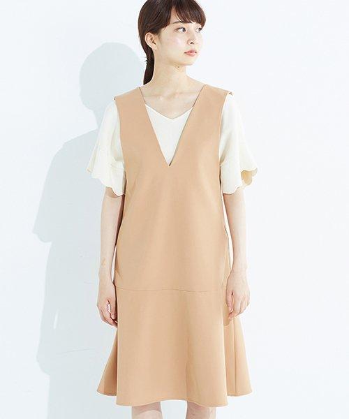 haco!(ハコ)/パッと着て今気分&長い季節着られる すそフレアージャンパースカート/636378_img20
