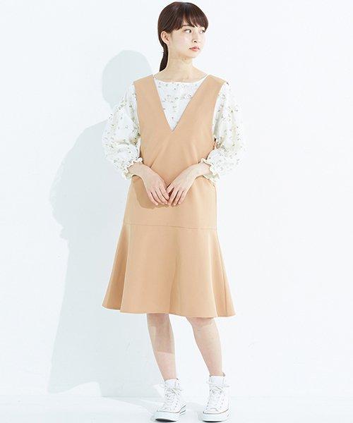 haco!(ハコ)/パッと着て今気分&長い季節着られる すそフレアージャンパースカート/636378_img25