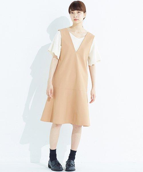 haco!(ハコ)/パッと着て今気分&長い季節着られる すそフレアージャンパースカート/636378_img27