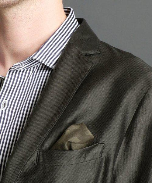 MONSIEUR NICOLE(ムッシュニコル)/2ボタンノッチドシャツジャケット/7462-3500_img03