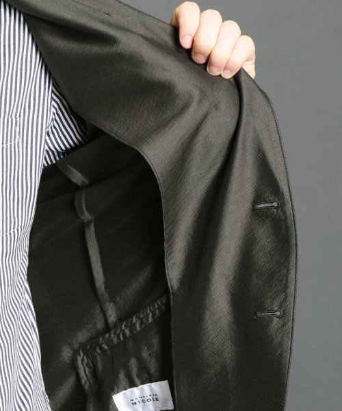 MONSIEUR NICOLE(ムッシュニコル)/2ボタンノッチドシャツジャケット/7462-3500_img05
