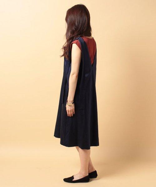 beautiful people(ビューティフルピープル)/s/w satin sffold dress/1745104007_img02