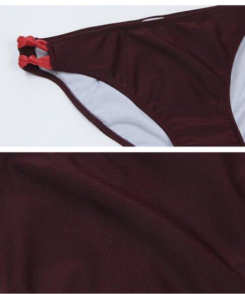 SEA DRESS(シードレス)/バックリボンデザインバンドゥビキニ/DPJR0333_img04