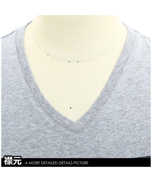 improves(インプローブス)/半袖VネックプリントTシャツ/99011_img14