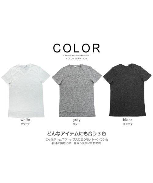 improves(インプローブス)/半袖Vネックカットソー/99041_img02
