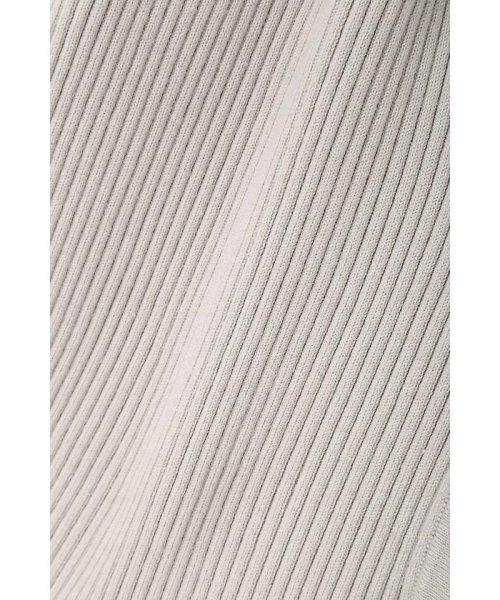 PROPORTION BODY DRESSING(プロポーション ボディドレッシング)/【MAGASEEK/dfashion限定カラー】刺繍Vリブカーデニットアップワンピース/1217240922_img12