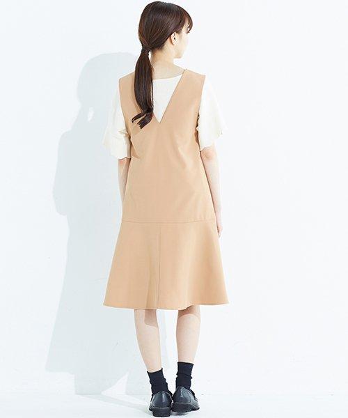 haco!(ハコ)/パッと着て今気分&長い季節着られる すそフレアージャンパースカート/636378_img29