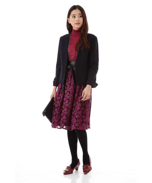 NATURAL BEAUTY(ナチュラル ビューティー)/チュール刺繍スカート/0187220014_img03