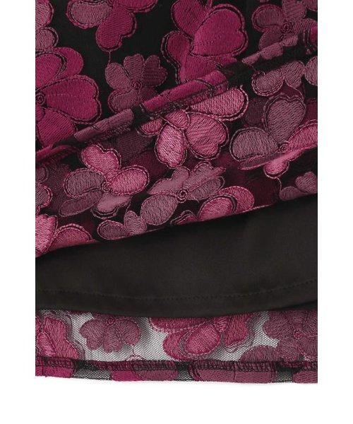 NATURAL BEAUTY(ナチュラル ビューティー)/チュール刺繍スカート/0187220014_img04