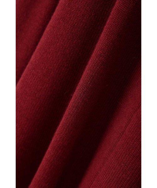 PROPORTION BODY DRESSING(プロポーション ボディドレッシング)/【MAGASEEK/dfashion限定カラー】刺繍Vリブカーデニットアップワンピース/1217240922_img15