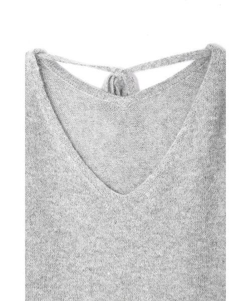 PROPORTION BODY DRESSING(プロポーション ボディドレッシング)/【CanCam 12月号掲載】アンゴラ混バックリボンニット/1217270910_img02