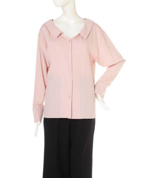 Pinky&Dianne(ピンキー アンド ダイアン)/レーヨンドライツイルシャツカラーブラウス/0317210831_img14