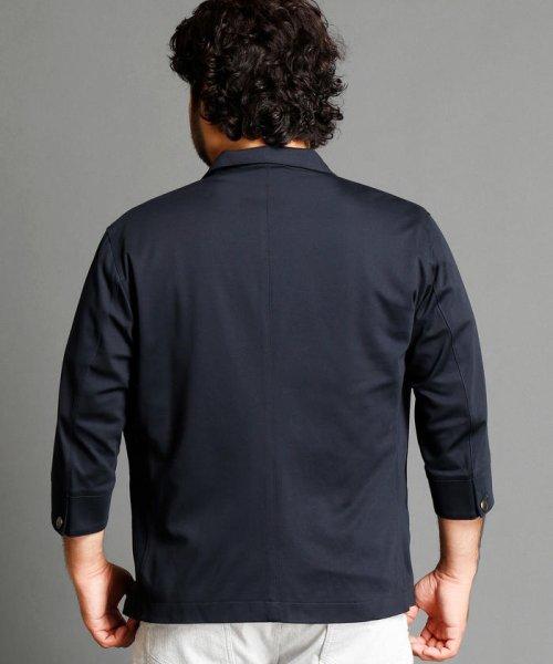 HIDEAWAYS NICOLE L(ハイダウェイニコル(大きいサイズ))/7分袖テーラードジャケット/7404-9900_img01
