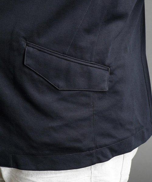 HIDEAWAYS NICOLE L(ハイダウェイニコル(大きいサイズ))/7分袖テーラードジャケット/7404-9900_img06