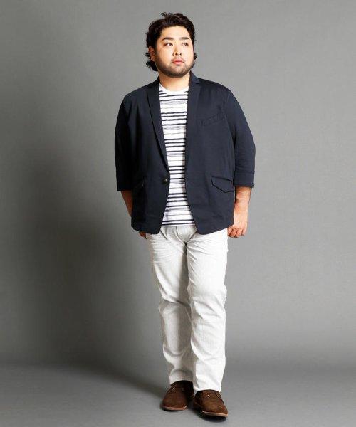 HIDEAWAYS NICOLE L(ハイダウェイニコル(大きいサイズ))/7分袖テーラードジャケット/7404-9900_img08