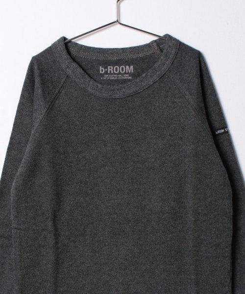 b-ROOM(ビールーム)/ラグラン長袖Tシャツ/9873290_img04