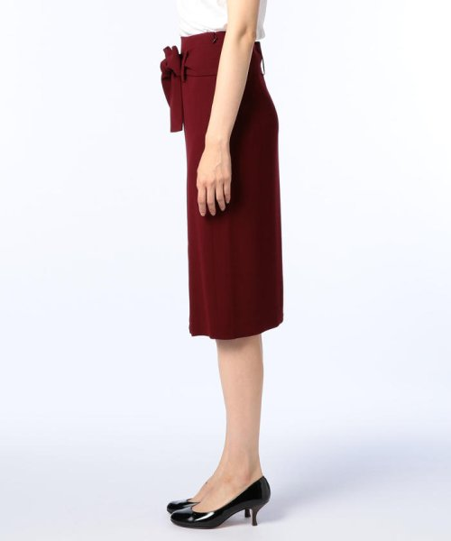 NOLLEY'S sophi(ノーリーズソフィー)/バックサテンウエストリボンスカート/7-0030-5-06-001_img02