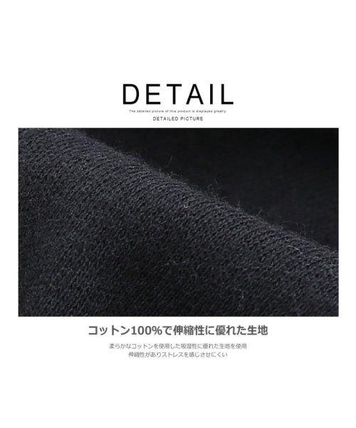 improves(インプローブス)/長袖スムースルーズタートルネックカットソー/99025_img03