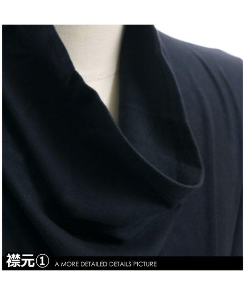 improves(インプローブス)/長袖スムースルーズタートルネックカットソー/99025_img13