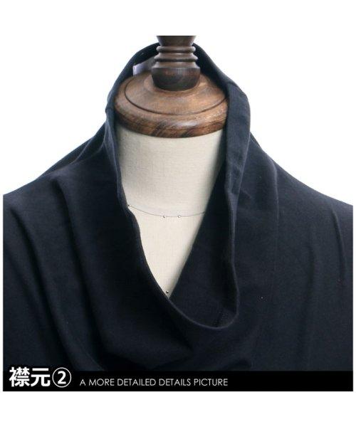 improves(インプローブス)/長袖スムースルーズタートルネックカットソー/99025_img14