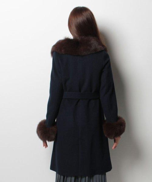 JUSGLITTY(ジャスグリッティー)/衿ファー付きポケットファーコート/47424610_img26
