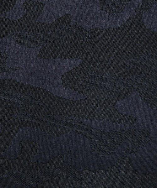 HIDEAWAYS NICOLE L(ハイダウェイニコル(大きいサイズ))/迷彩柄スタンドカラーブルゾン/7504-9906_img08