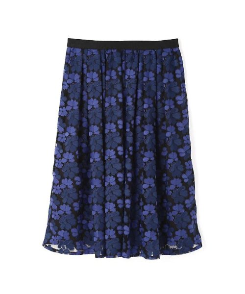NATURAL BEAUTY(ナチュラル ビューティー)/チュール刺繍スカート/0187220014_img06